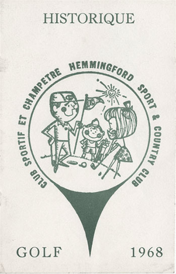 Golf Hemmingford - Historique